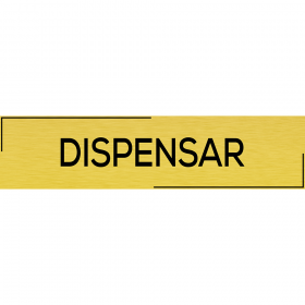 "Placuta usa ""Dispensar"""