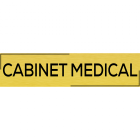 "Placuta usa ""Cabinet medical"""