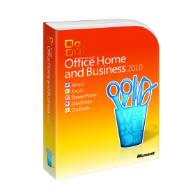 Office 2010 Home and Business, licență electronică
